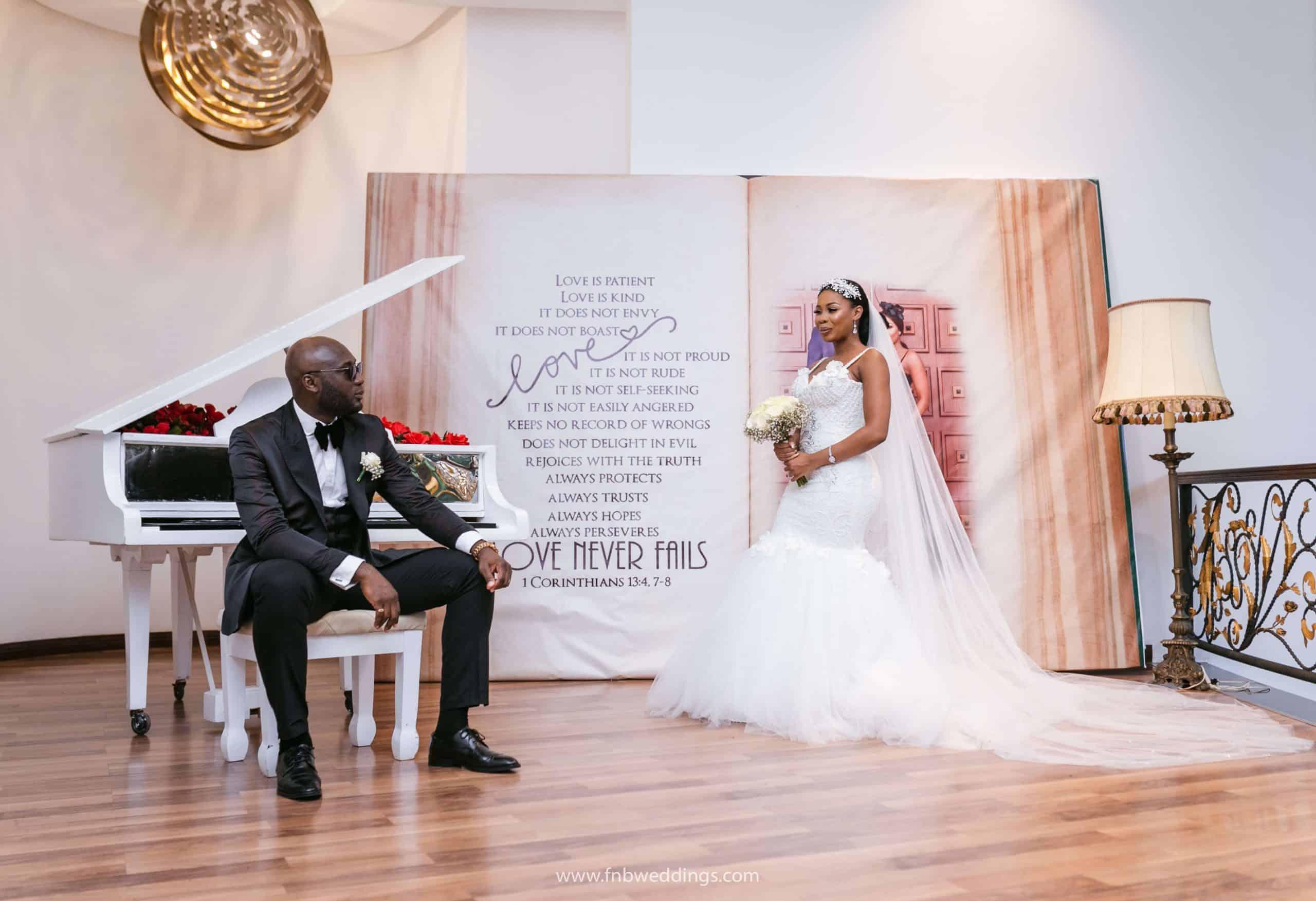 Timeless Classic & Romantic Wedding in Ghana