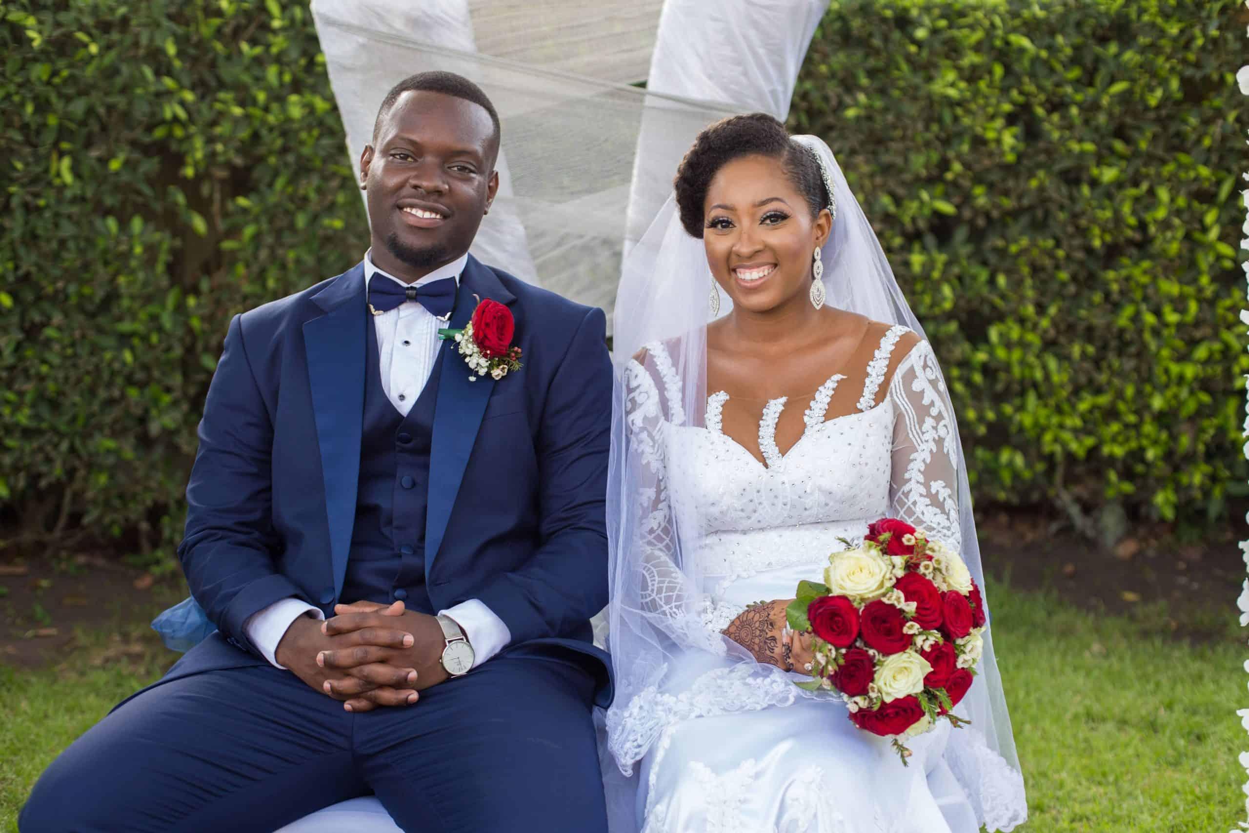 Mountain View Garden Wedding at Peduase in Ghana